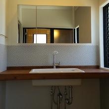 松山市:洗面所をオシャレにリフォーム