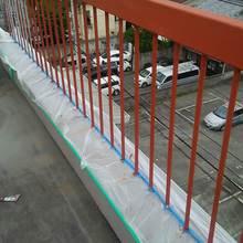 松山市:屋上リフォームで手すりの塗り替え工事