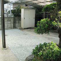松山市:庭をリフォームして駐車場を拡張