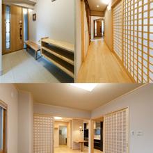 松山市:玄関からリビングや和室などの内装をリフォーム