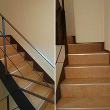 松山市:4階建ての住宅の階段をリフォーム