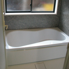 松山市:ゆったり入れるお風呂にリフォーム